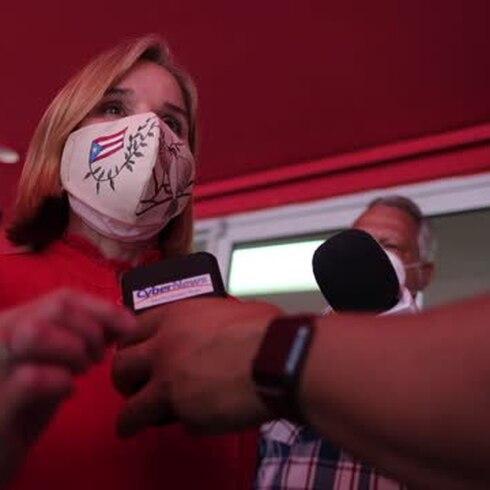 "Carmen Yulín a Wanda Vázquez: ""Es corrupta y Pierluisi es corrupto"""