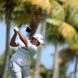 Golfista boricua Rafael Campos comparte el liderato en el Campeonato Corales Punta Cana