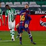 Messi rescata al Barcelona desde el rol de suplente