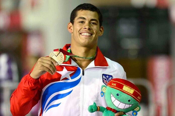 El clavadista Rafael Quintero participará por segunda ocasión en unos Juegos Panamericanos. (Archivo / GFR Media)