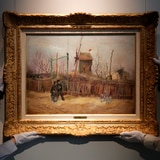 Exponen el raro cuadro de Van Gogh que no había sido mostrado al público en más de 100 años
