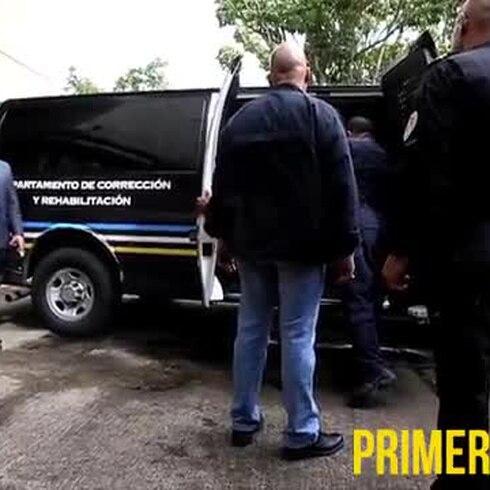 Traslado del convicto Pablo Casellas a institución carcelaria