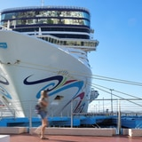 Cruceros podrían regresar a la isla en el verano
