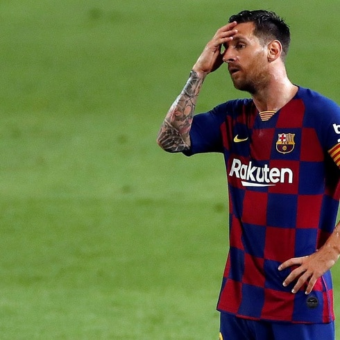 Lionel Messi no acude al test de COVID-19 del Barça