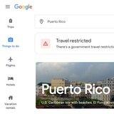 Google ahora te avisa si hay restricciones por coronavirus en las búsquedas de viajes
