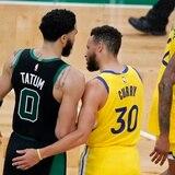 Jayson Tatum anota 44 puntos y los Celtics se llevan la victoria ante los Warriors