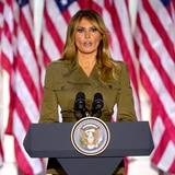 Melania Trump promete un futuro mejor