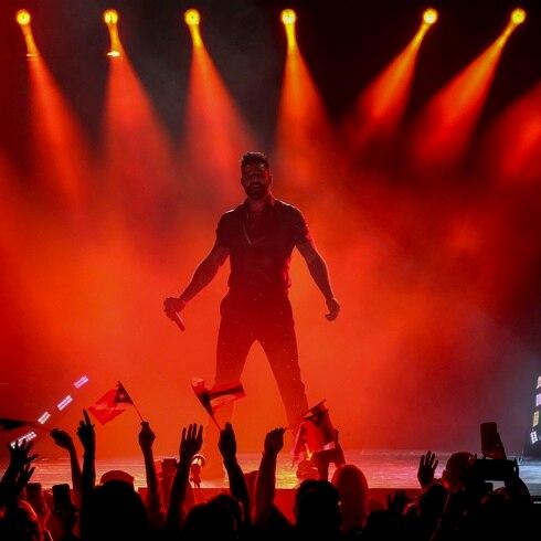 Concierto de Ricky Martin en el Choliseo