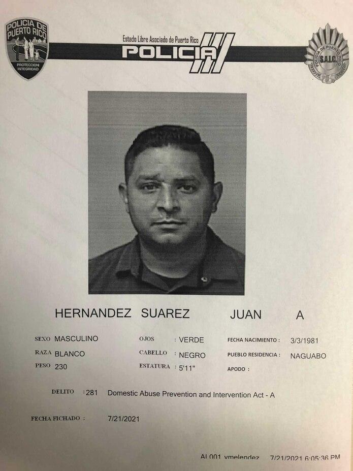 Juan Alexis Hernández Suárez.