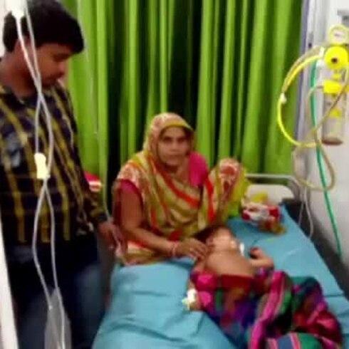 Encefalitis presuntamente provocada por lichis mata a 31 niños en India
