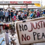 Autoridades preparadas para protestas ante veredicto en juicio por muerte de George Floyd
