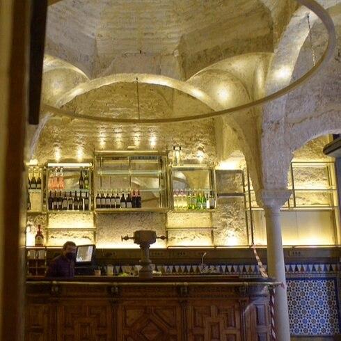 Sorpresa arqueológica en un bar de Sevilla