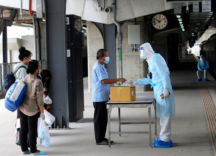 Bangkok (Tailandia) EFE/EPA/NARONG SANGNAK