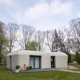 Así es la casa construida con impresora 3D en Holanda