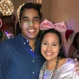 Hijo de Keylla Hernández comparte foto de la última despedida de año juntos