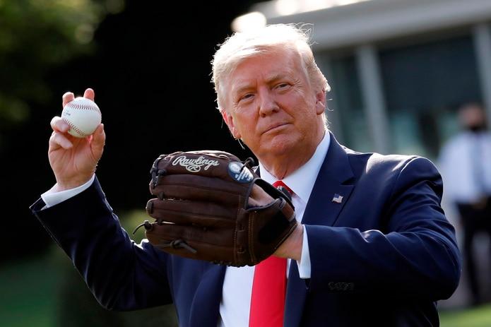 Donald Trump descarta hacer lanzamiento