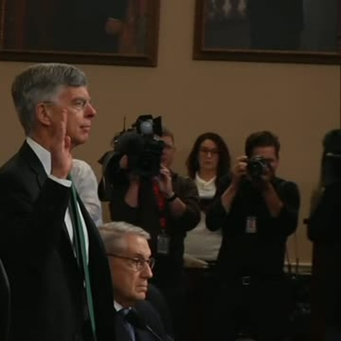 Así fue la primera audiencia pública en el proceso de juicio político a Trump