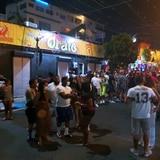 Libre con grillete turista arrestado anoche en la Placita de Santurce