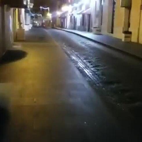 San Juan amanece limpio luego del tercer día de la SanSe19