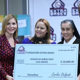 Sin pausa Carlos Delgado en su misión de ayudar