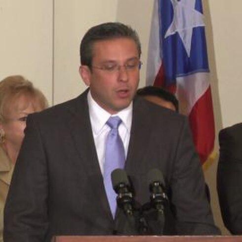 Alejandro Garcia Padilla hablando inglés
