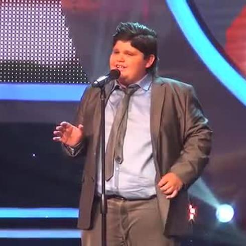 """Christopher Rivera canta el tema """"Sueña"""""""