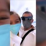 Tierno vídeo de Toni Costa y su hija Alaïa