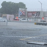 Inundadas zonas de Santurce