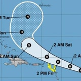 Jerry dejaría vientos con fuerza de tormenta tropical sobre las Antillas Menores
