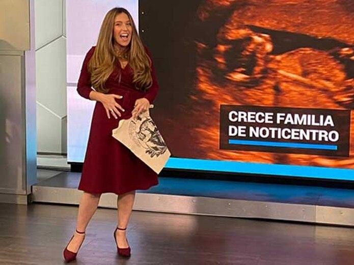 El pasado mes de diciembre, Sylvi Escoto compartió con los televidentes el anuncio de su segundo embarazo.