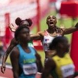Entrenador de Jasmine Camacho Quinn dice que su atleta pudo haber quebrado el récord mundial
