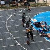 """Atletas locales de crossfit dieron la batalla en """"La Guerra"""""""