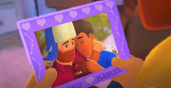 Imagen del primer corto gay de Pixar