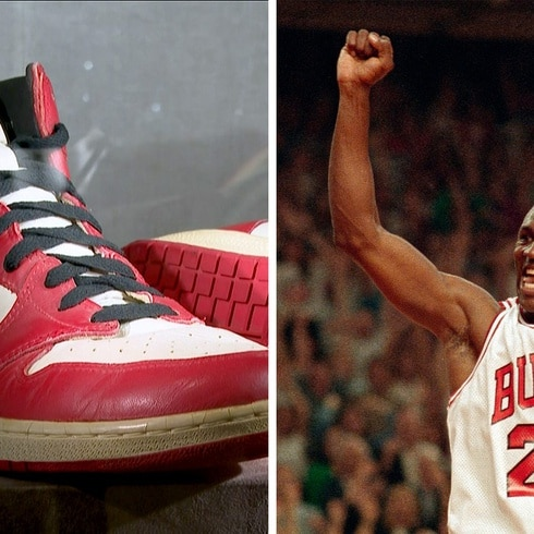 Michael Jordan: conoce la increíble historia de estos tenis