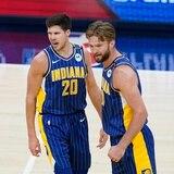 """Los Pacers destrozan a los Hornets en el inicio del torneo """"play-in"""" de la NBA"""