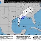 Emiten aviso de tormenta tropical para la costa del Golfo de México