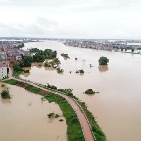 Catastrófica inundación en China