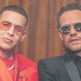 """Daddy Yankee y Marc Anthony presentan su nuevo tema """"De vuelta pa' la vuelta"""""""