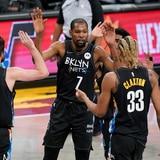 Durant volvió y los Nets dominaron a los Pelicans