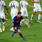 Barcelona no se inquieta por la lesión de Lionel Messi