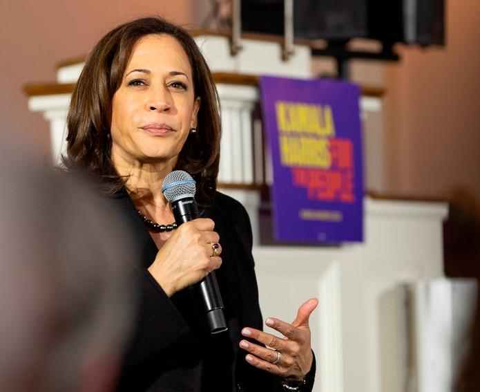 Kamala Harris, vicepresidenta electa de Estados Unidos