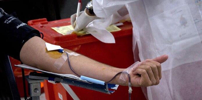 José Alsina, director de operaciones del banco, informó que estarán por 12 horas abiertos para lograr obtener pintas de sangre de los voluntarios que lleguen hasta el lugar. (Archivo)