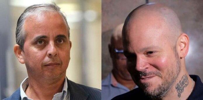 José Luis Colón y René Pérez en el Tribunal de San Juan (gerald.lopez@gfrmedia.com)