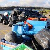 Recolectan 2.1 toneladas de basura en el proceso de limpieza en Galápagos