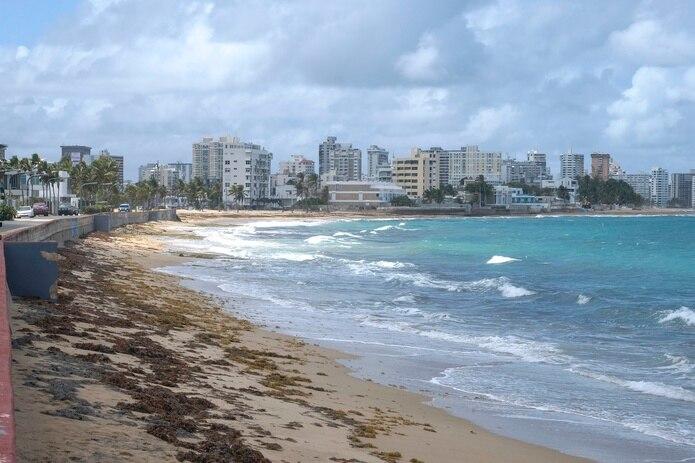 Playa del Último Trolley en Ocean Park.