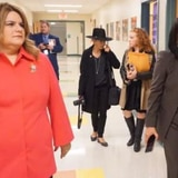 Activista confronta a Jenniffer González en escuela de Nueva Jersey