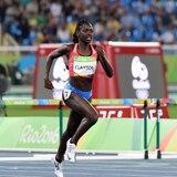 El relevo 4x400 femenino falla en mejorar su tiempo para clasificar a Tokio
