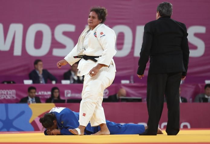 Melissa Mojica no competía desde febrero del pasado año cuando vio acción en el Grand Slam de Paris.