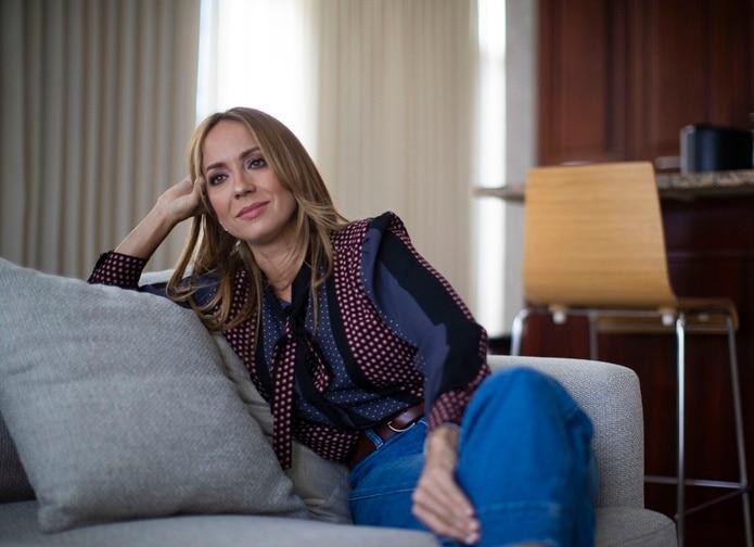 La productora, actriz y animadora Alexandra Fuentes