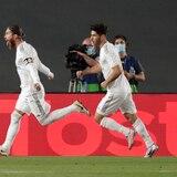 Deslucido triunfo acerca al Real Madrid al título en La Liga